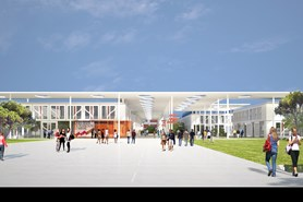Gleeds | New build campus at Toulouse University